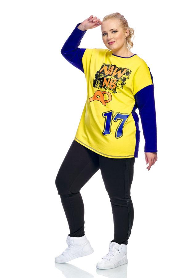 Туника 17 (желтый+синий)