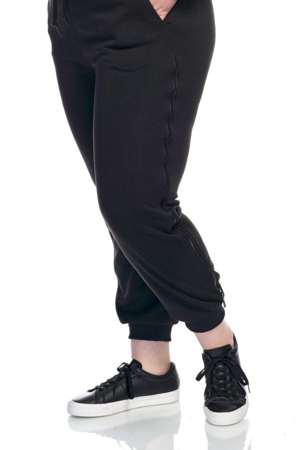 Штаны Замочек (черный)
