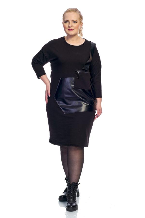 Платье Графит (черный)