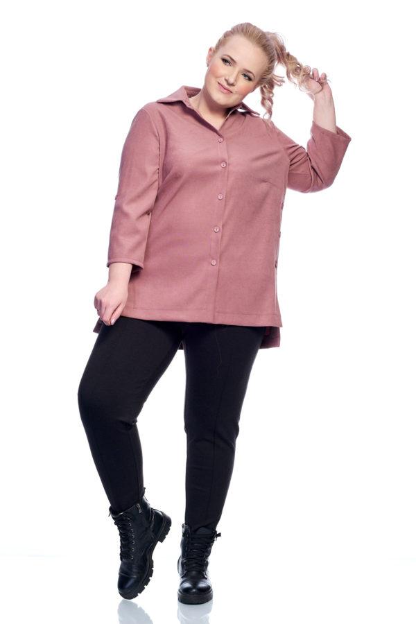 Рубашка Пуговка (пудра)