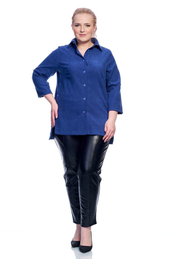 Рубашка Пуговка (синий)