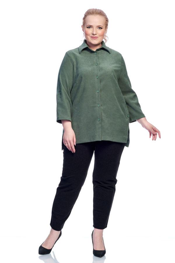 Рубашка Пуговка (зеленый)