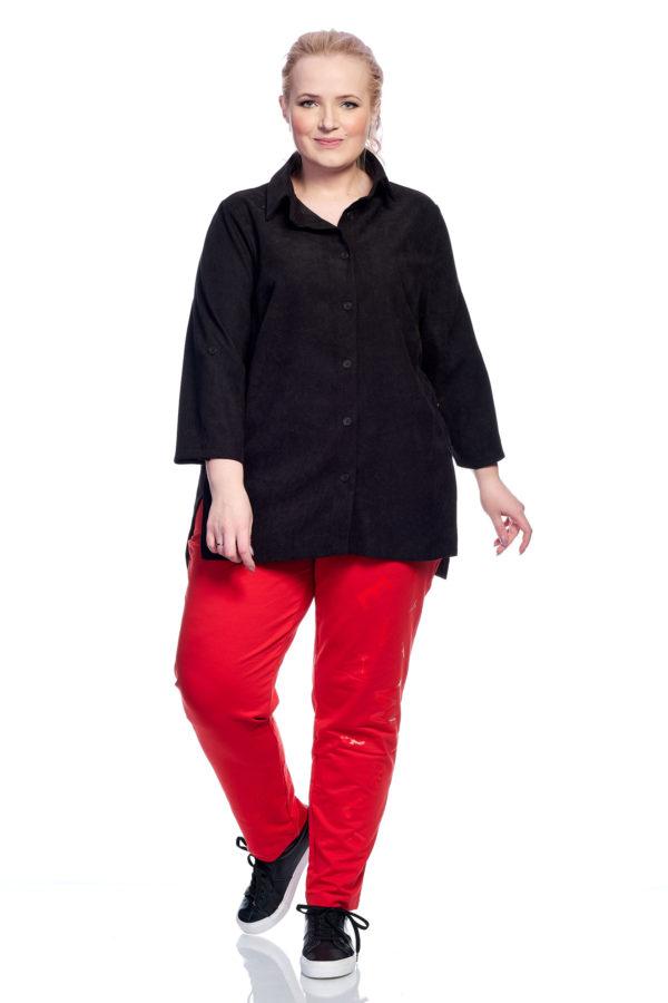 Рубашка Пуговка (черный)